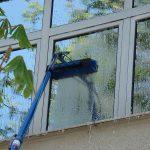 spalare geamuri la inaltime