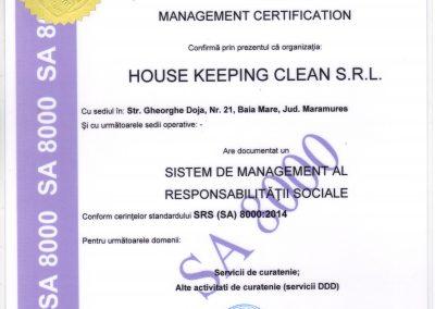 ISO 8000 - Responsabilitate sociala RO