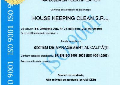 ISO Calitate